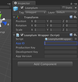 Leanplum SDK setup