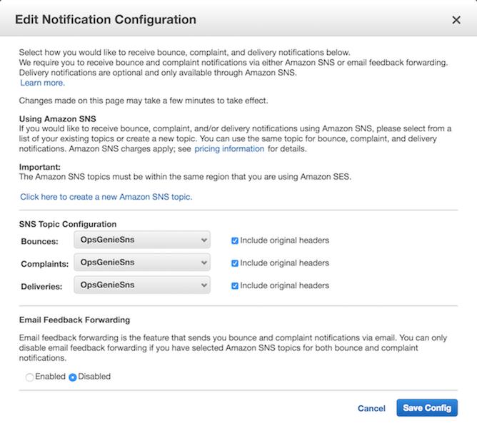 Amazon Ses Integration