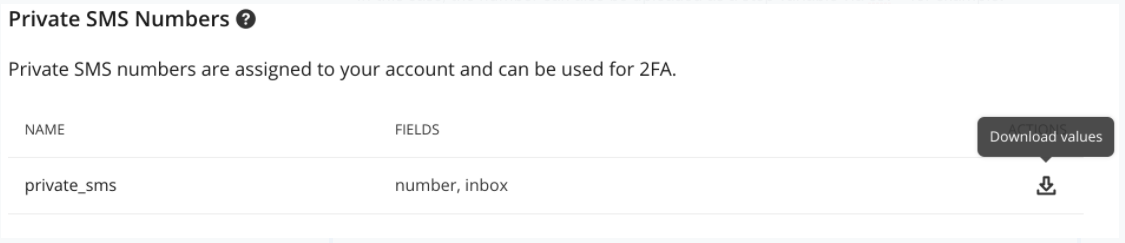 The {{private_sms.inbox}} placeholder.