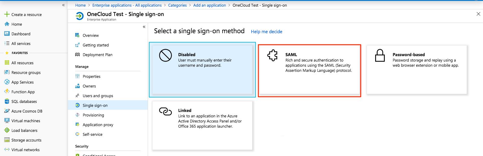 Azure Active Directory (AD)