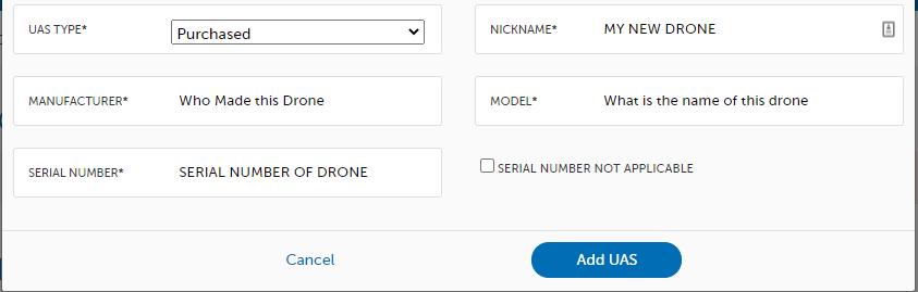FAA Dronezone
