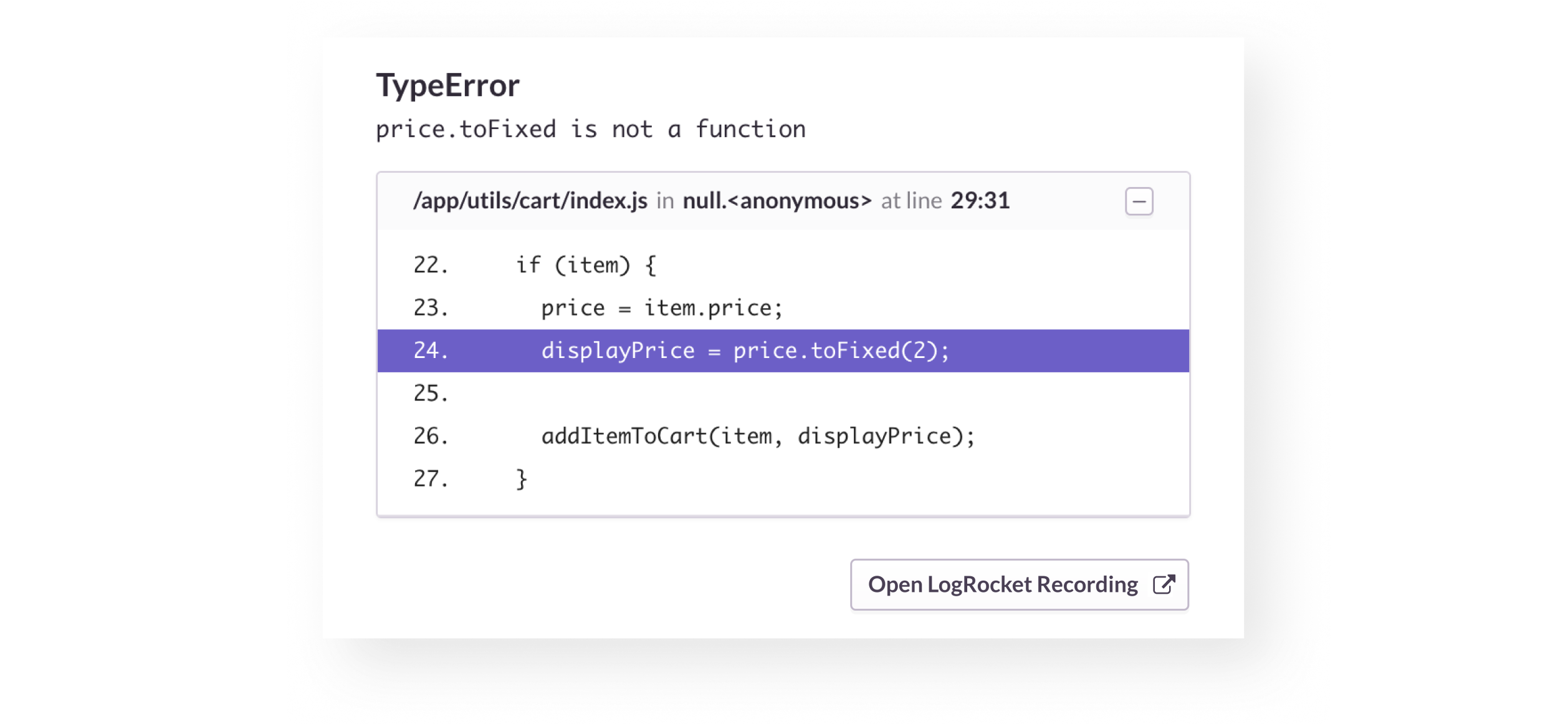 Did this exception affect the user experience? LogRocket has the answer.