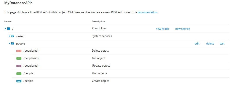 REST APIs.