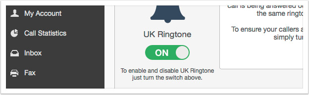 Turn on UK Ringtone