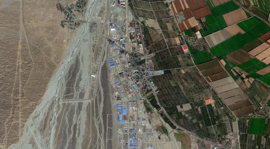 GeoEye-1 Multispectral 4-band image.