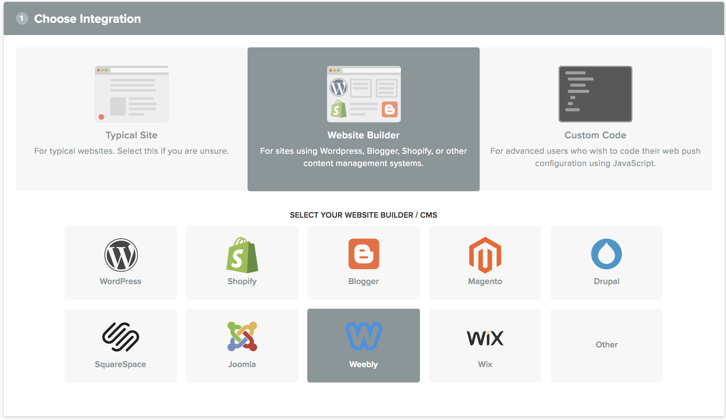 Weebly Product Element