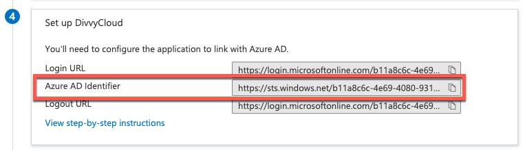 Azure AD Identifier