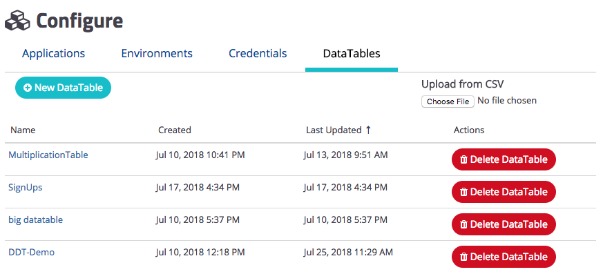 Create DataTable from CSV