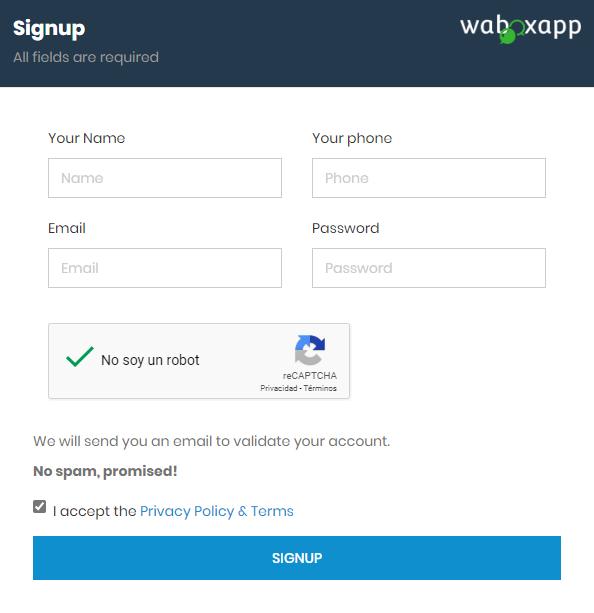 Confirmar el correo y seguir los pasos de validación.