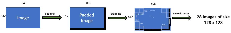 Visual representation of cropping.