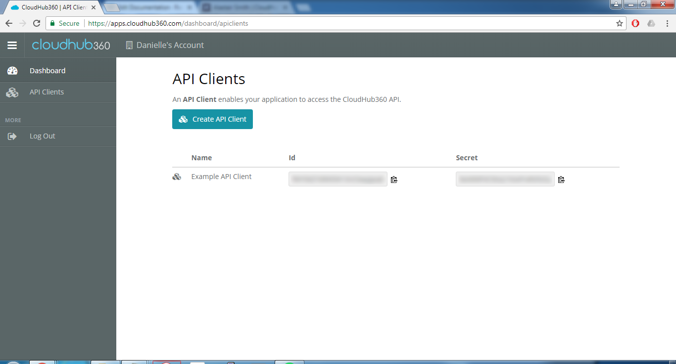 Getting started with the API