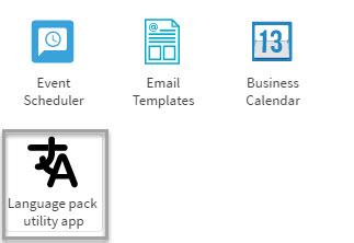 Figure 1: Language pack utility app