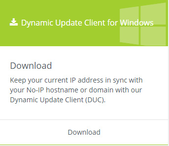 *Figure 3.20. Dynamic Update Client download.*