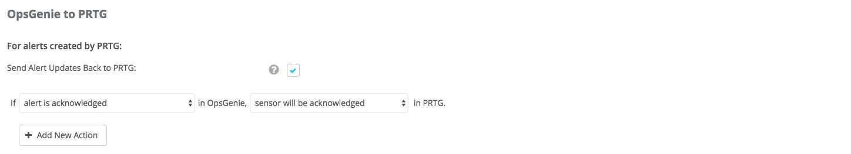 PRTG Integration