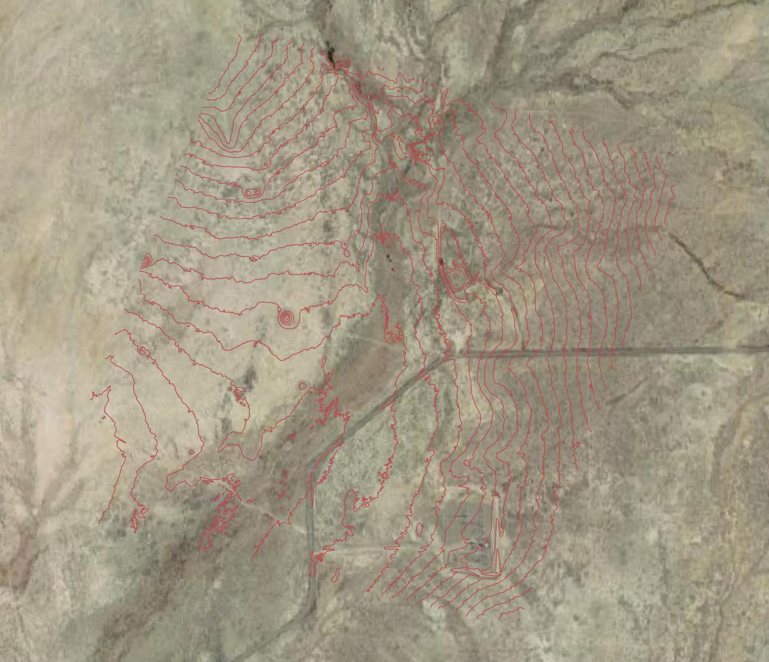 Comprehensive deliverable option 2: contour map