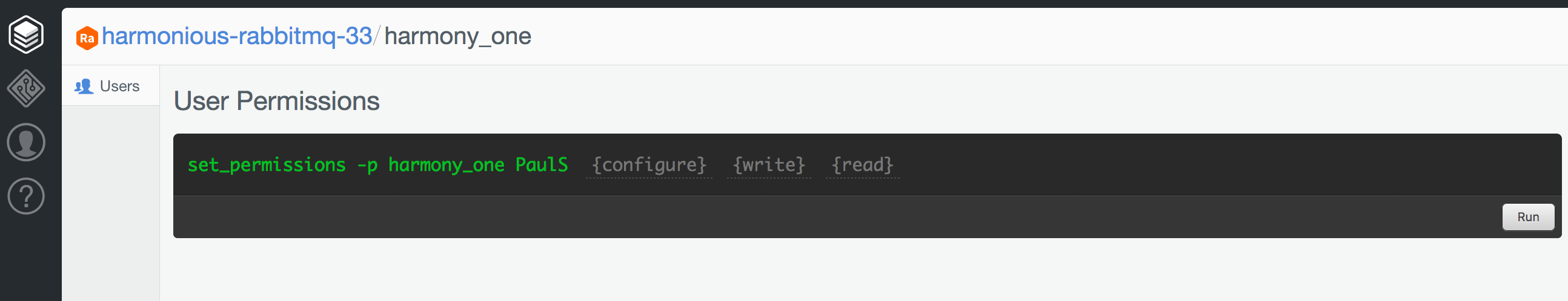Running `set_permissions` in the browser.