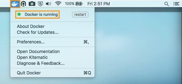 Install Docker on Mac OS