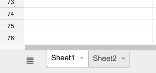 Finding the sheet name inside Google Sheets.