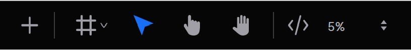 Toolbar controls include the Pan tool (open hand icon) and the Zoom dropdown on the far right.