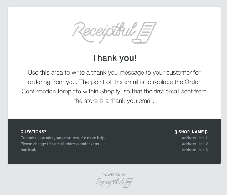 Does Conversio Replace ShopifyS Order Confirmation  Conversio