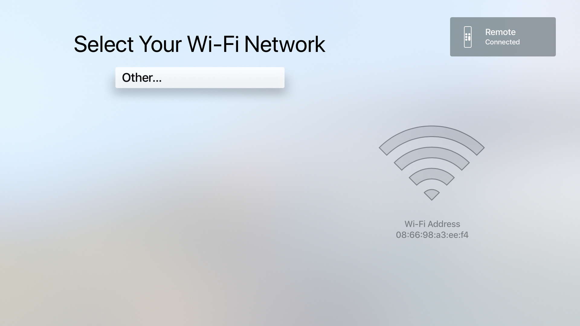 Enable digital signage mode on Apple TV