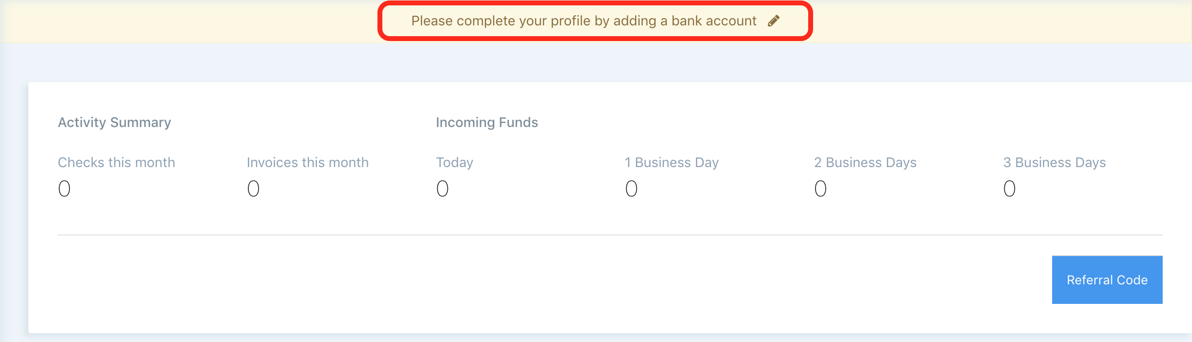 Instant Account Verification