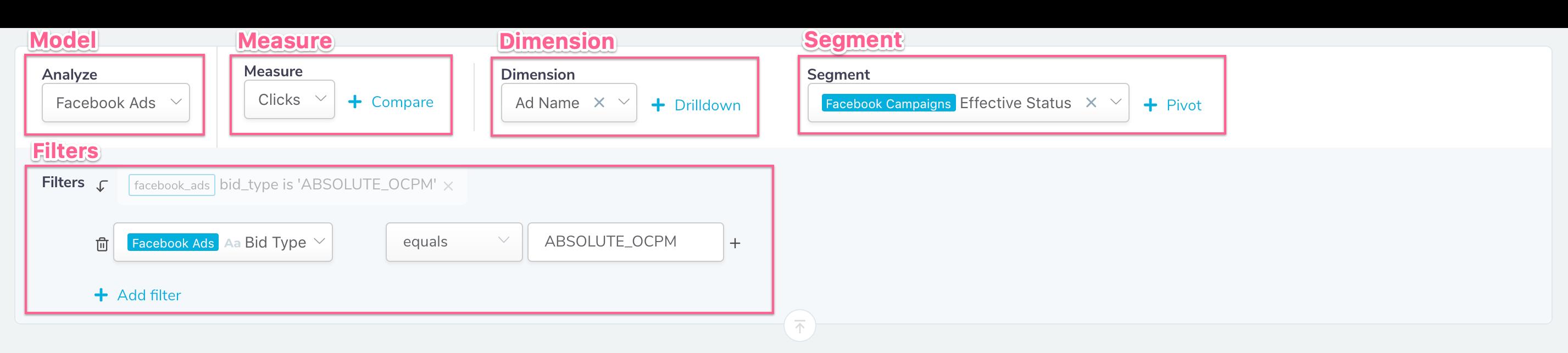 Segmentation query builder