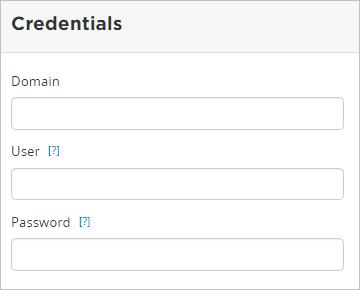 Active Directory Profile Sources