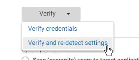 re-detect schema