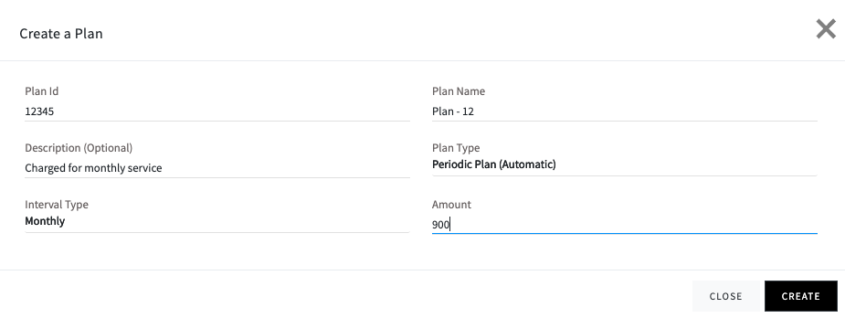 Create Plan