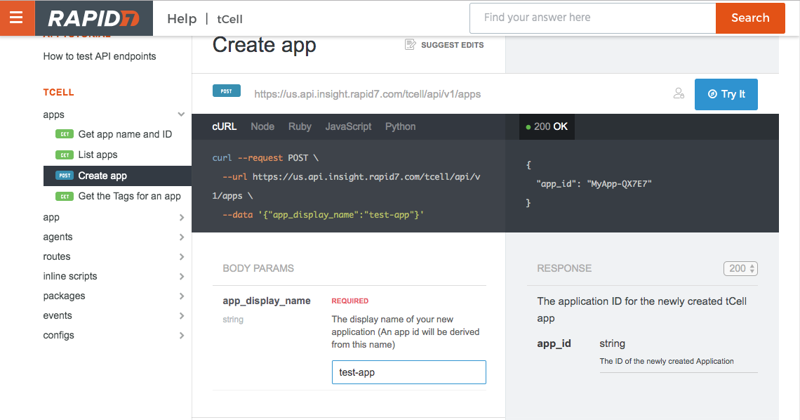 How to test API endpoints