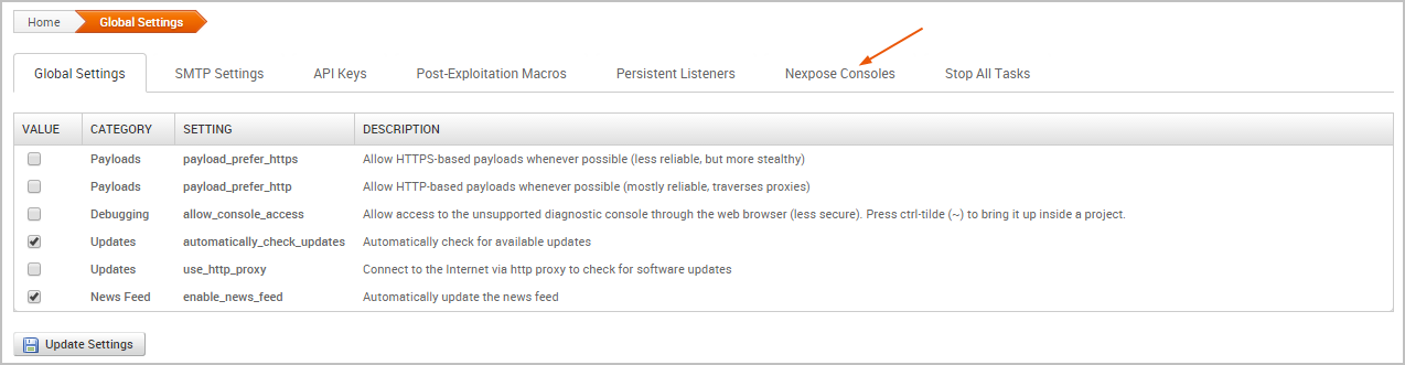 Vulnerability Scanning with Nexpose