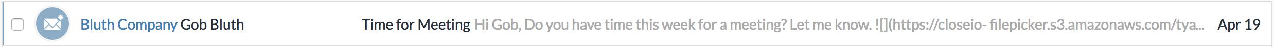 Inbox Reminder Task