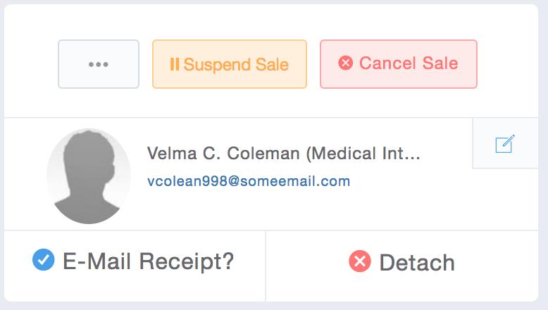 E-mail Receipt