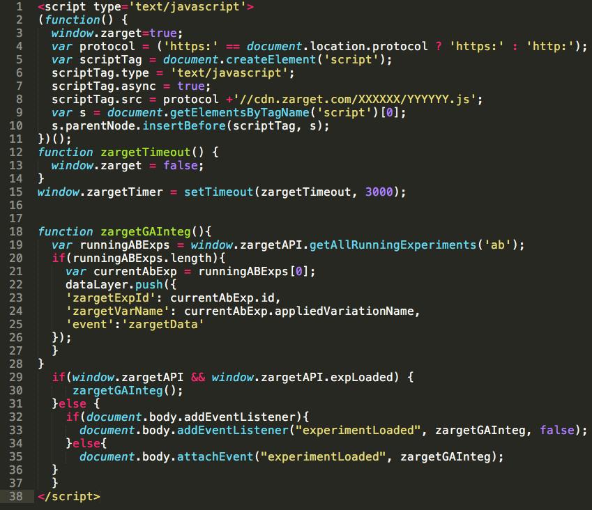 Code Installation