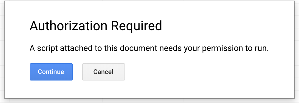 Create Document from a Google Sheet