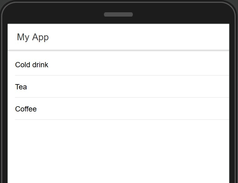 Testing the app.