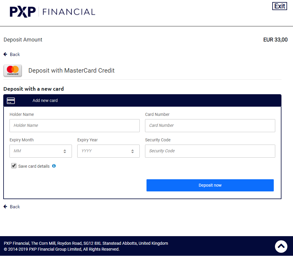 Hosted Payment Pages