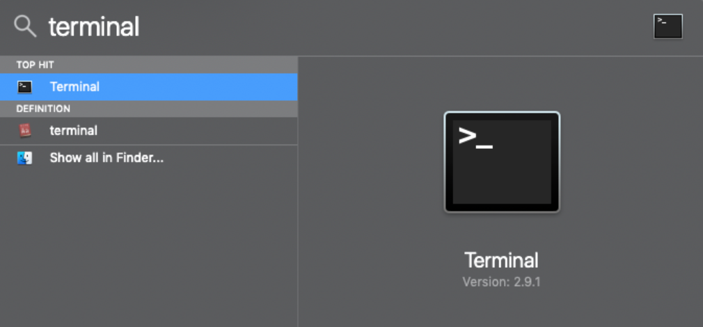 How to get IP:Port format on Mac - open terminal