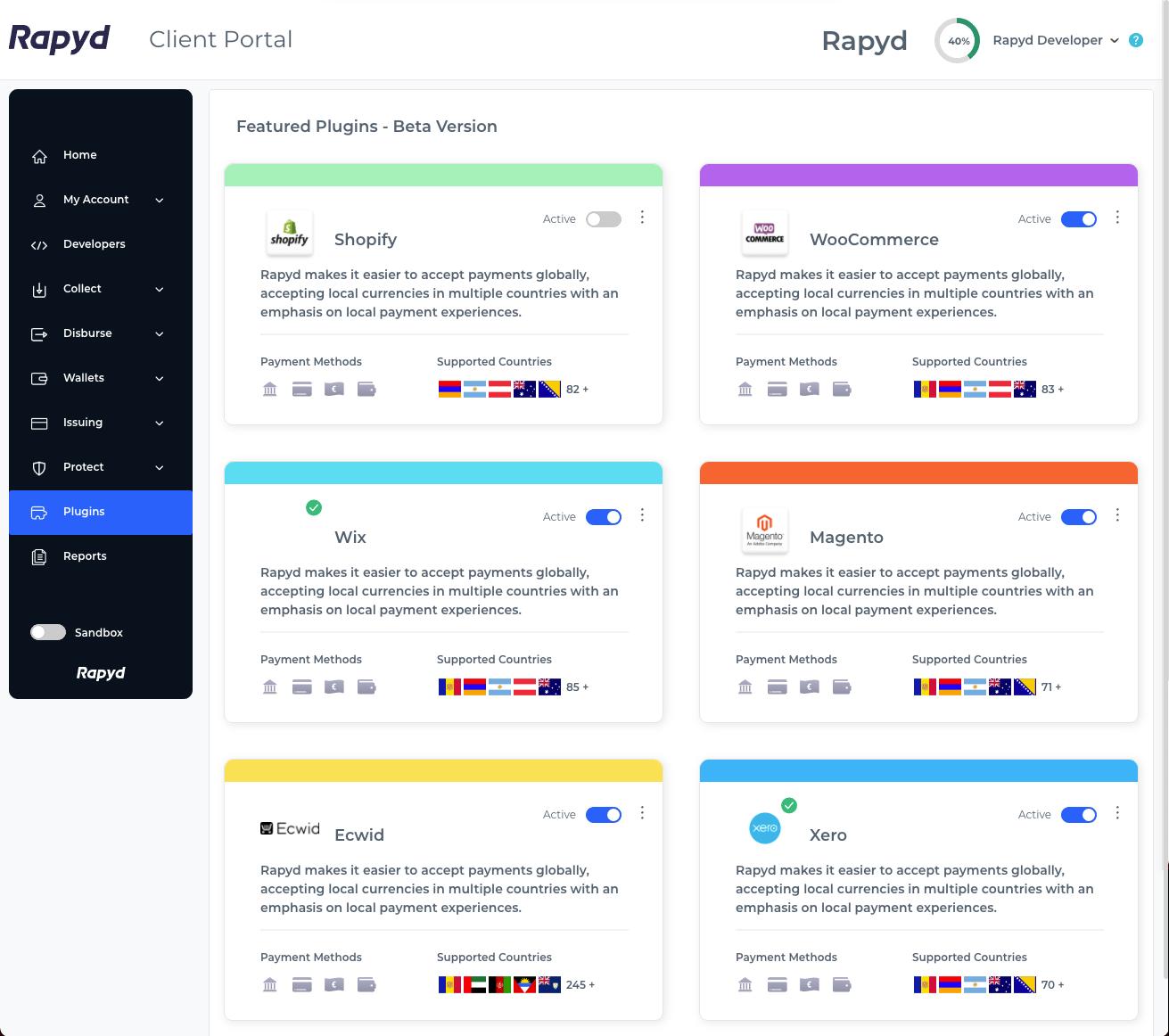 Plugins in Client Portal