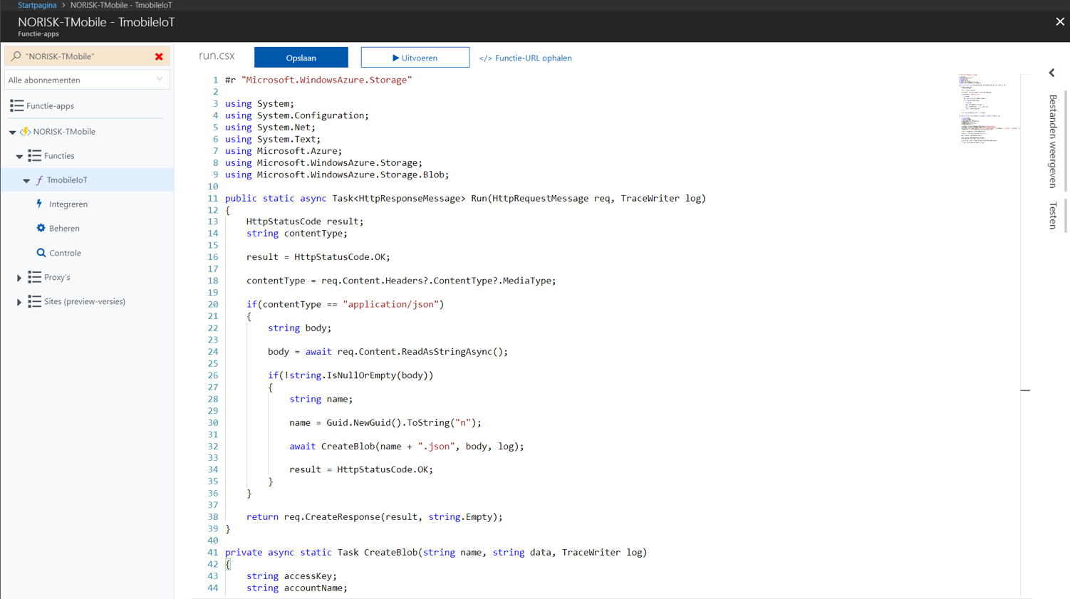 Integration with MS Azure and Power BI