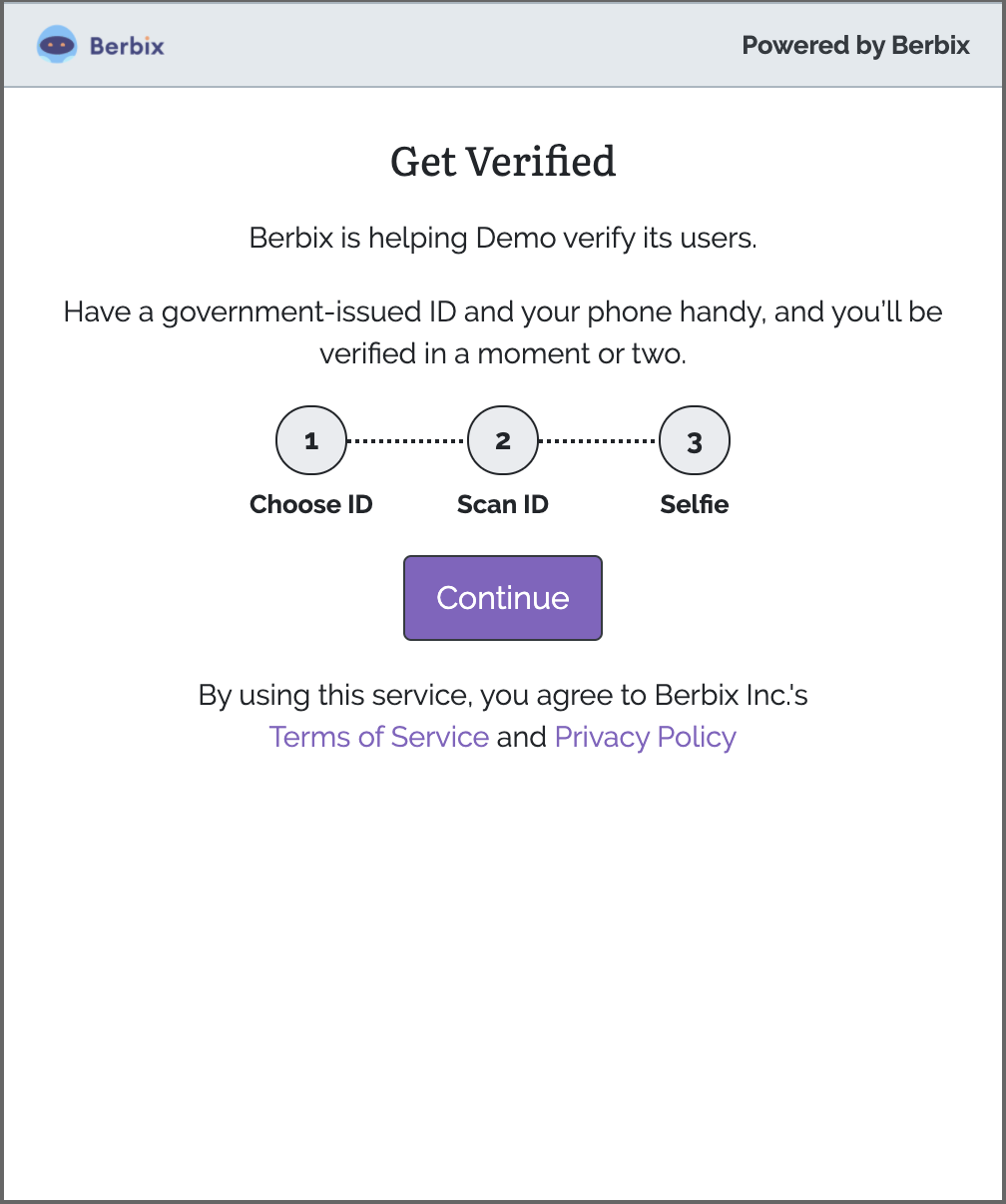 Photo ID only verification