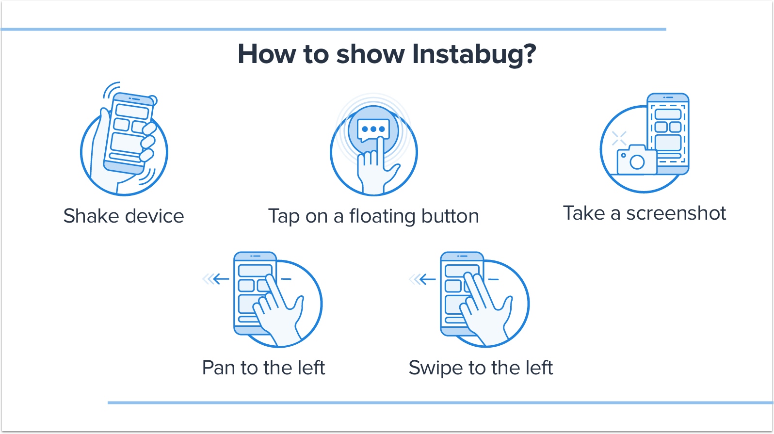 How to show Instabug