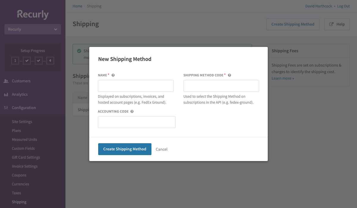 You can use Shipping Methods to show your customers which method is being used to ship their items.