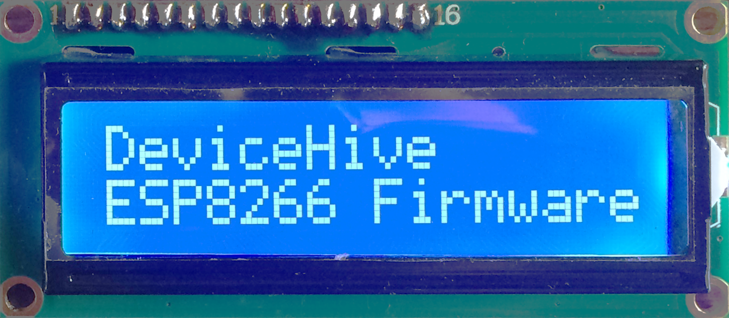 DeviceHive ESP8266 Firmware