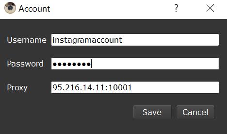 Followliker assign proxy to account