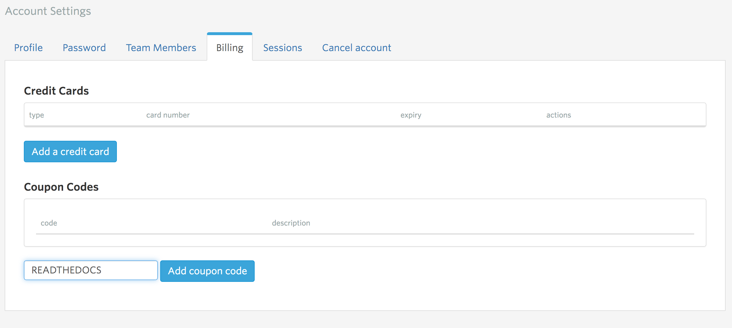 Managing Your Account · Bonsai