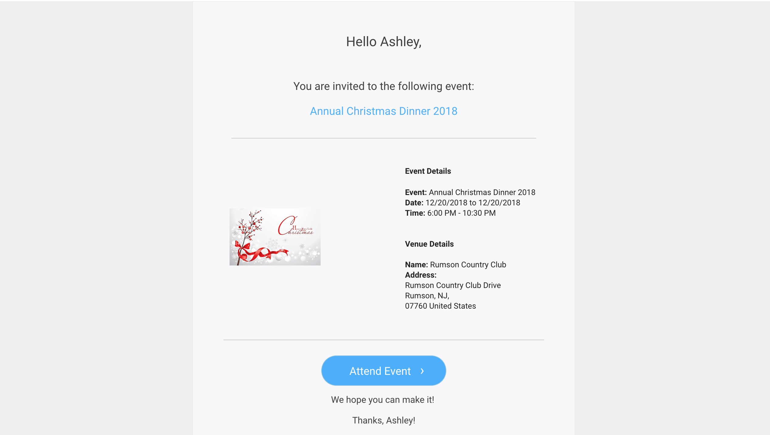 Email Invites Reminders More