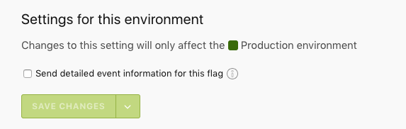 """The """"Send detailed event information for this flag"""" field."""