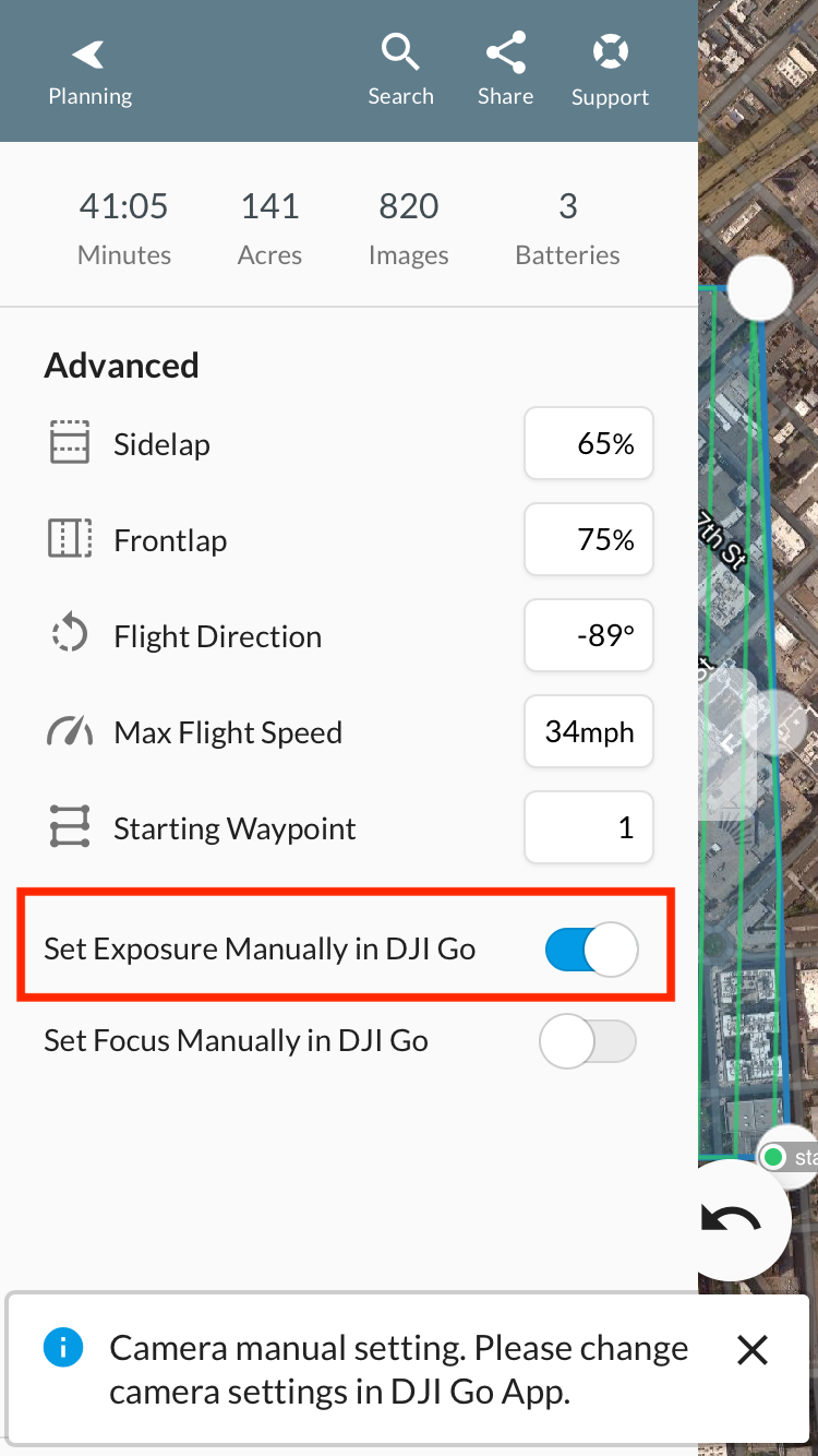 Troubleshooting for DJI drones